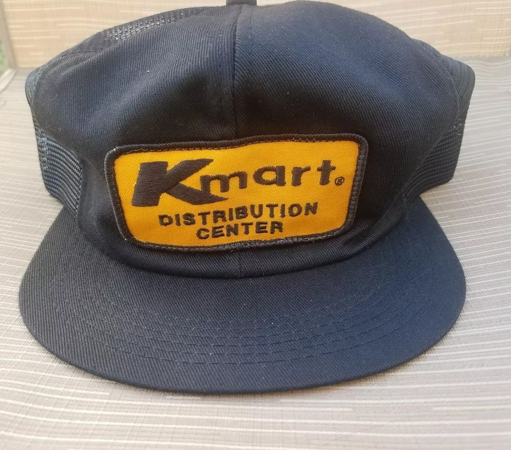 48b92f25b5138 Vintage Kmart Distribution Center Trucker Hat Mesh Snapback Cap Truckers  Patch