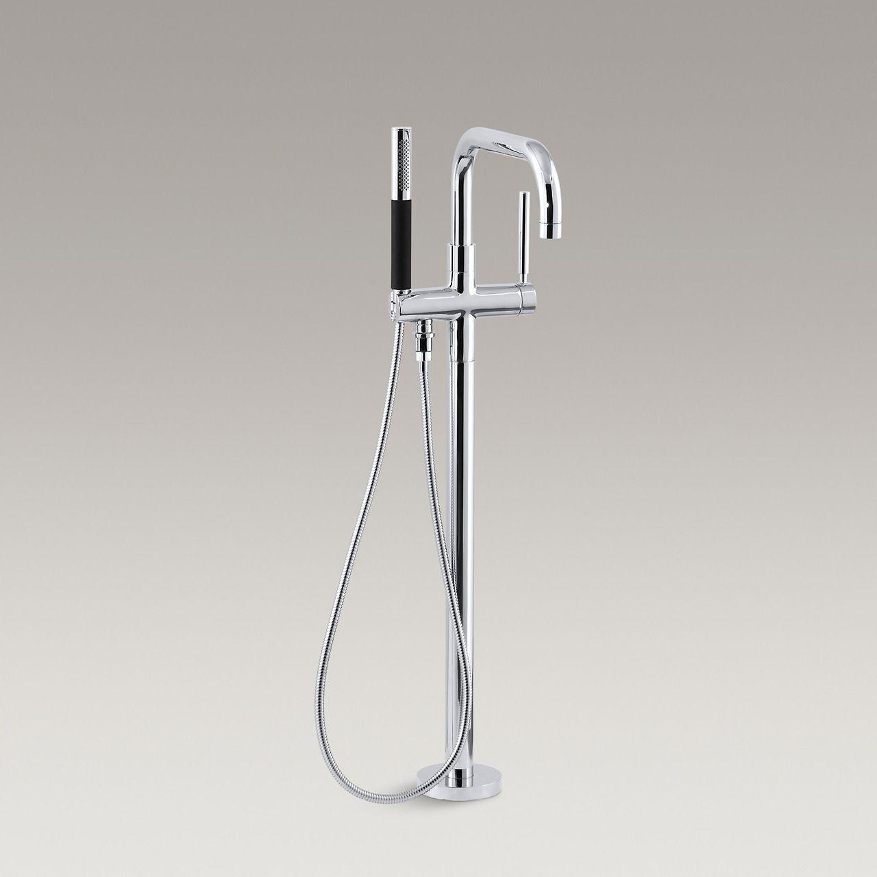 Purist bath filler http://www.us.kohler.com/us/Purist-floor-mount ...