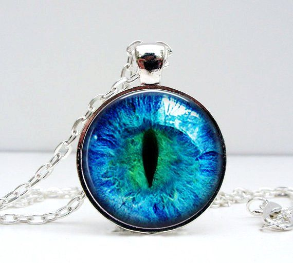Cat eye necklace glass dome art picture pendant photo pendant cat eye necklace glass dome art picture pendant photo pendant handcrafted jewelry by lizabettas aloadofball Choice Image