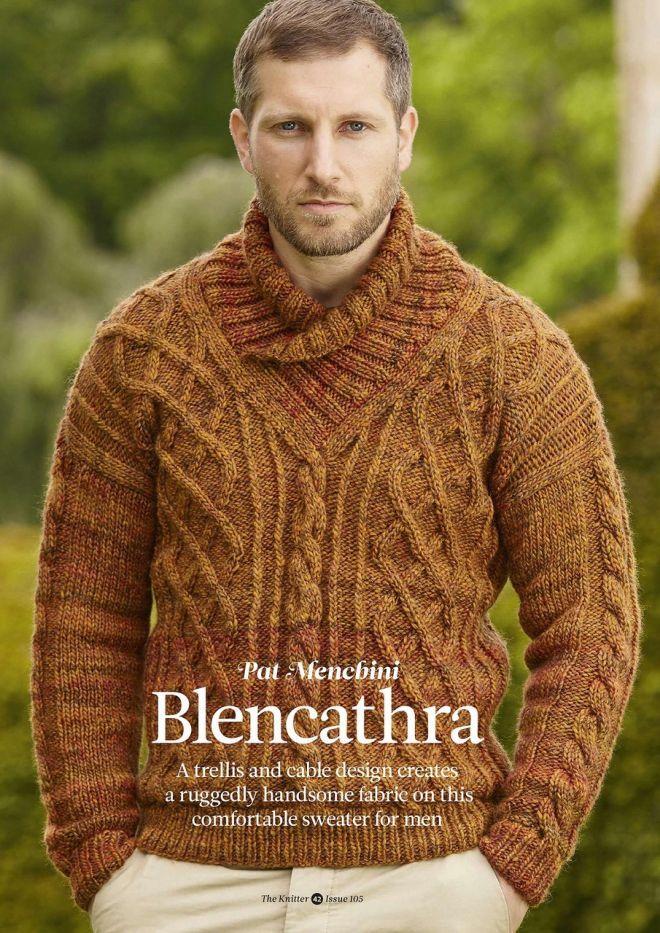Вязание: Для мужчин | Мужской свитер, Мужские свитеры, Мужчины