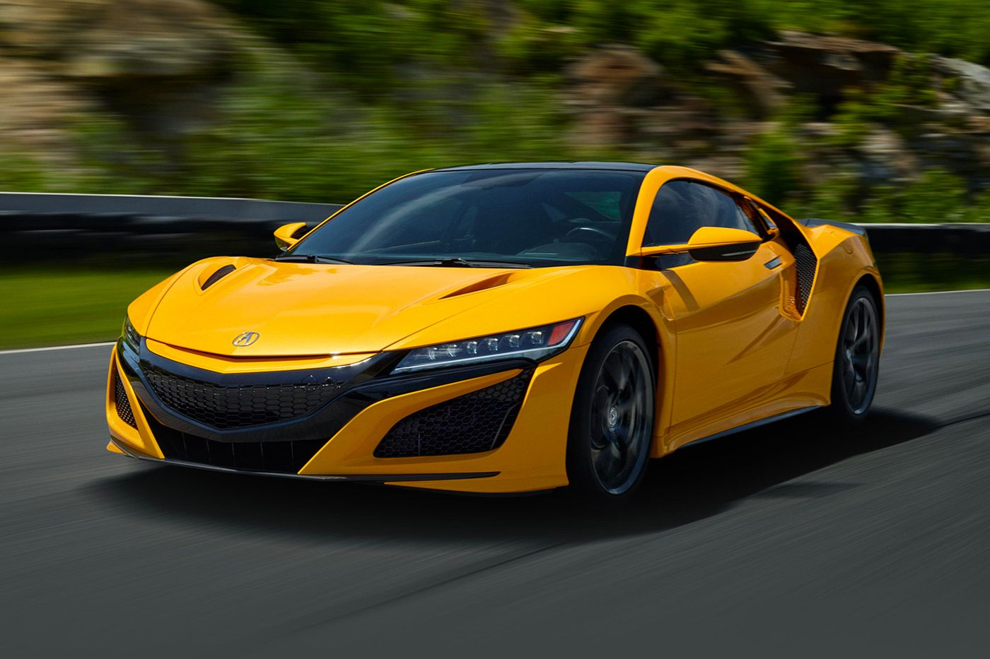 The 2020 Acura NSX Now Comes in Heritage Indy Yellow Pearl