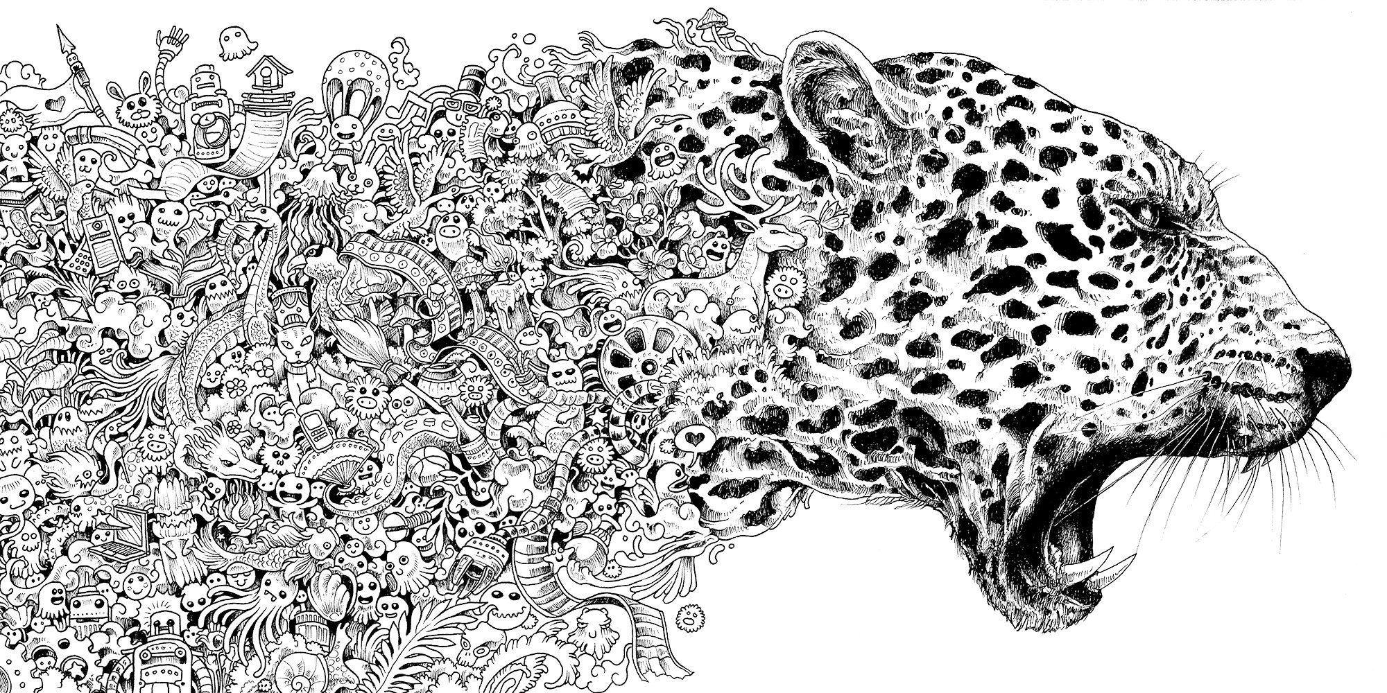 Animorphia Coloring Book in 2019 | Crafts | Adult coloring pages ...