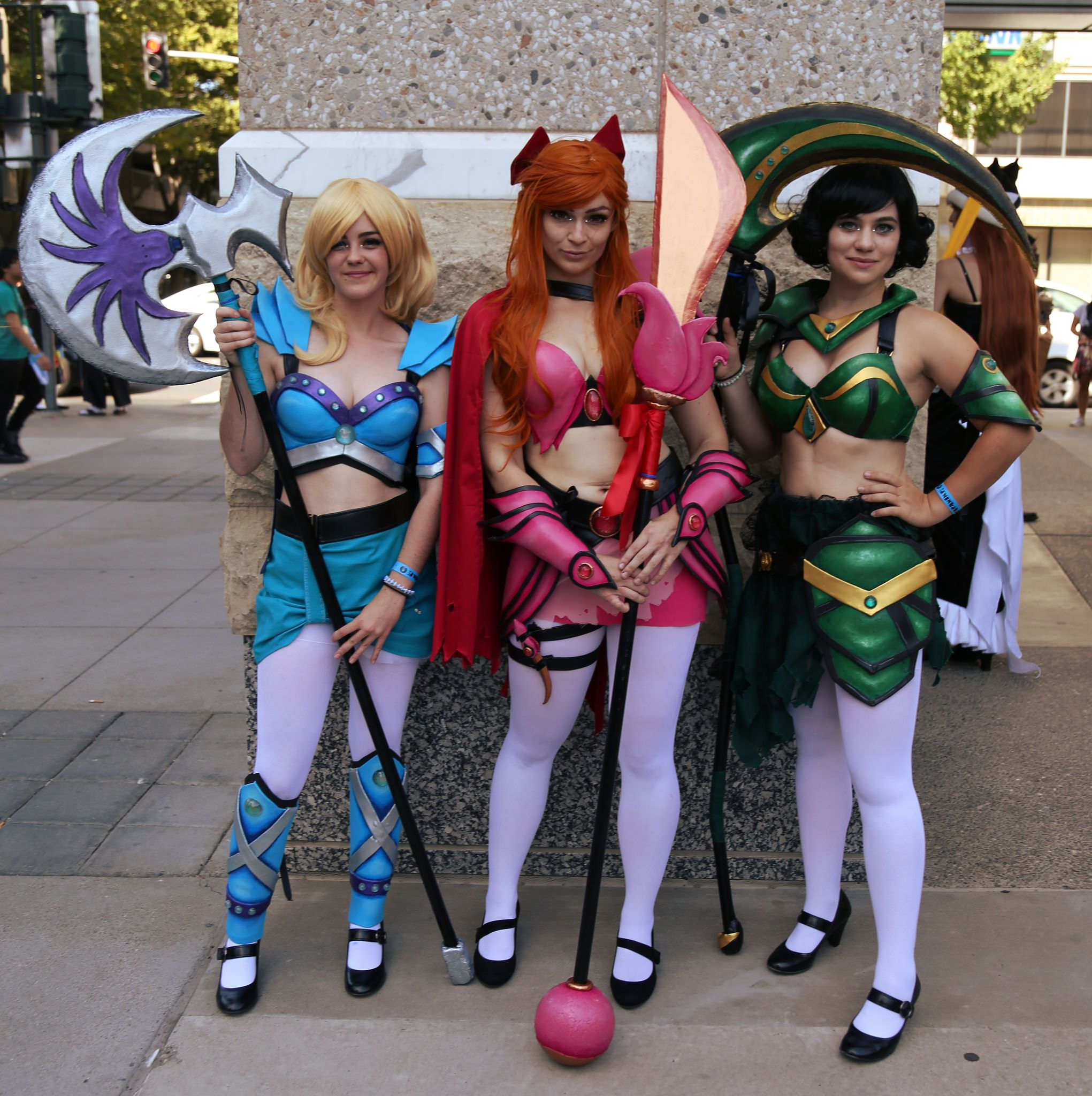 The Powerpuff Girls: Blossom, Bubbles, and Buttercup, from ...