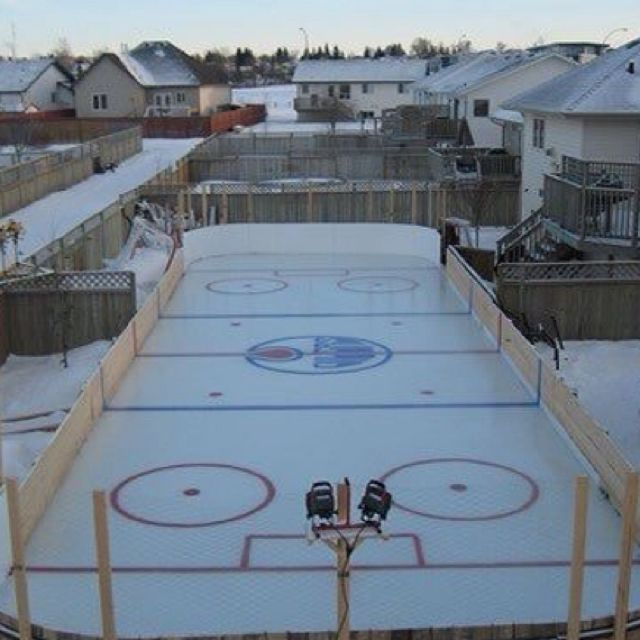 Homemade Ice Arena (With Images)