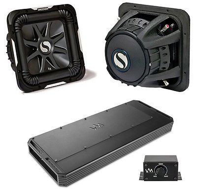 Kicker SoloBaric L7 S12L72 1Way 12in. Car Subwoofer