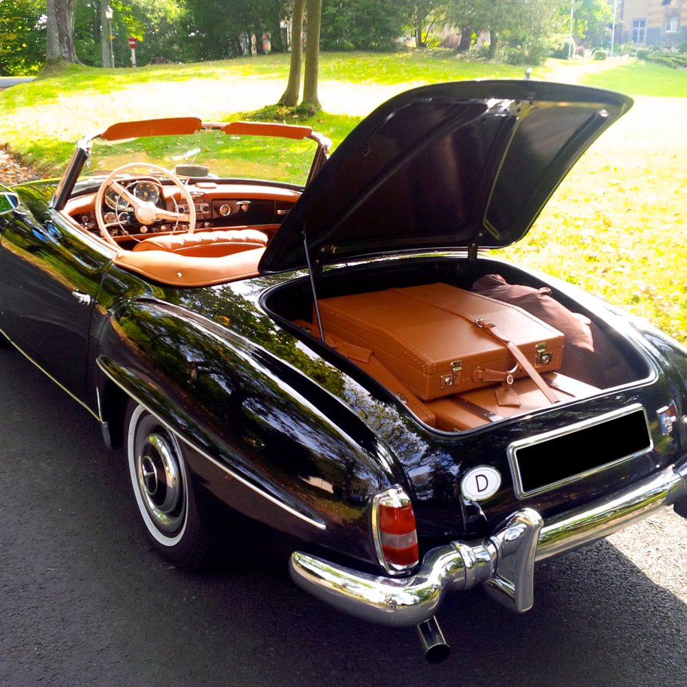 All Types 190 mercedes sl : Various SL Luggage for Sale | Mercedes | Pinterest | Mercedes benz ...