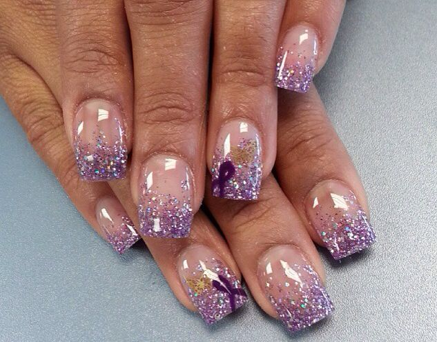 Lupus awareness nails | nails | Pinterest | Lupus awareness ...