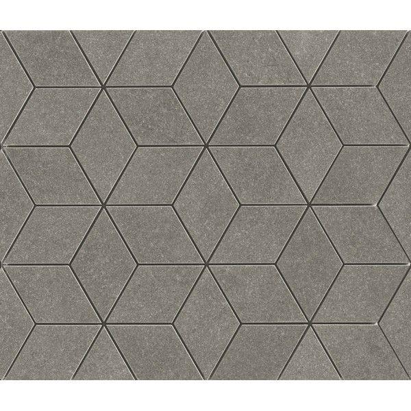 Simple Elegant Ragno Landscape Mosaic Antracite 30x35 cm R3EX Porcelain stoneware on bathroom39 at 218 Euro sqm Lovely - Review gray mosaic tile Photos