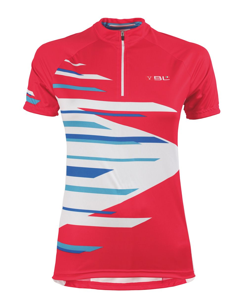 CRYSTAL ladies cycling jersey in red  c52c6621d