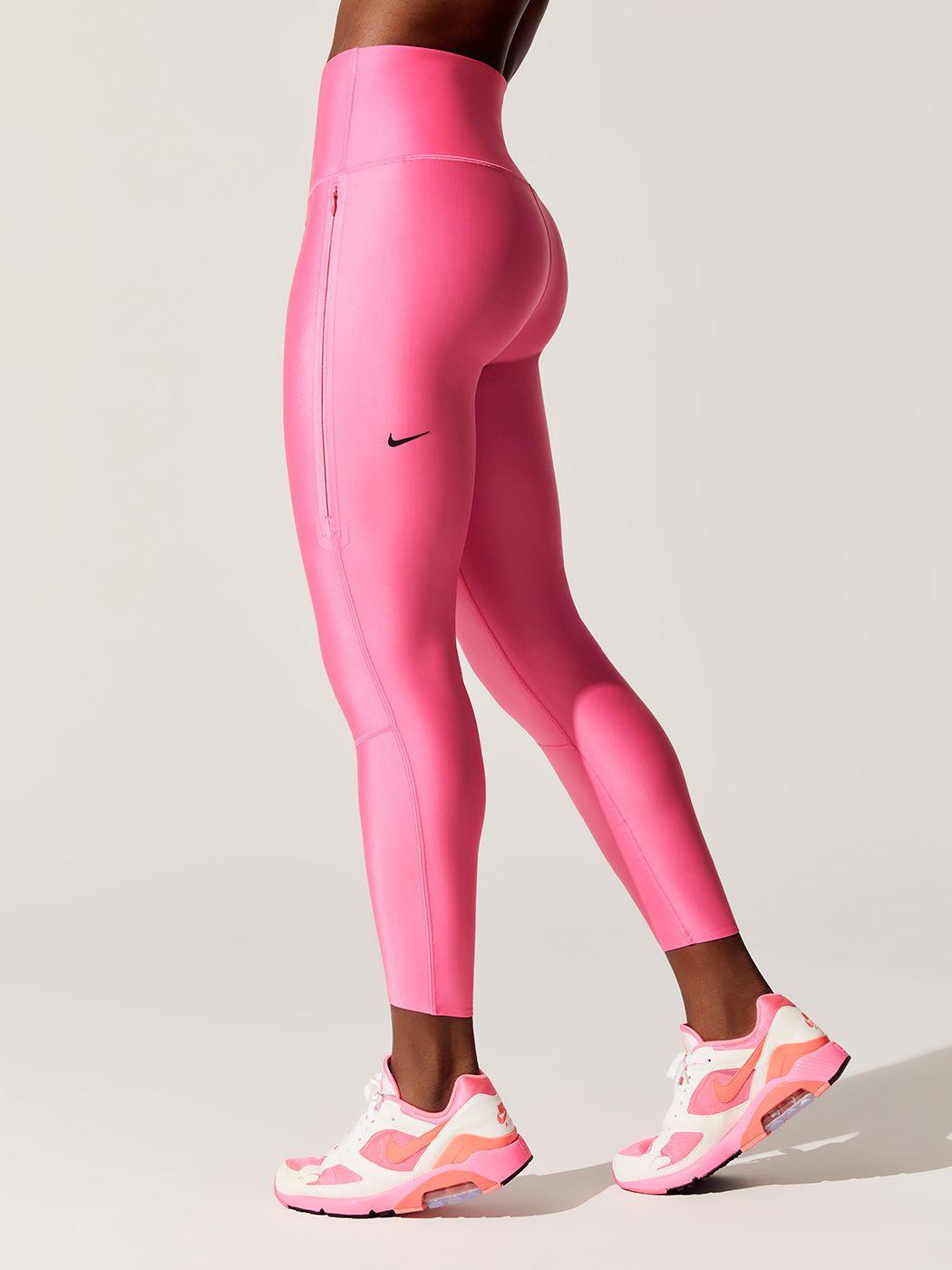 Women's Training Tights Leggings in Neon Pink Women's