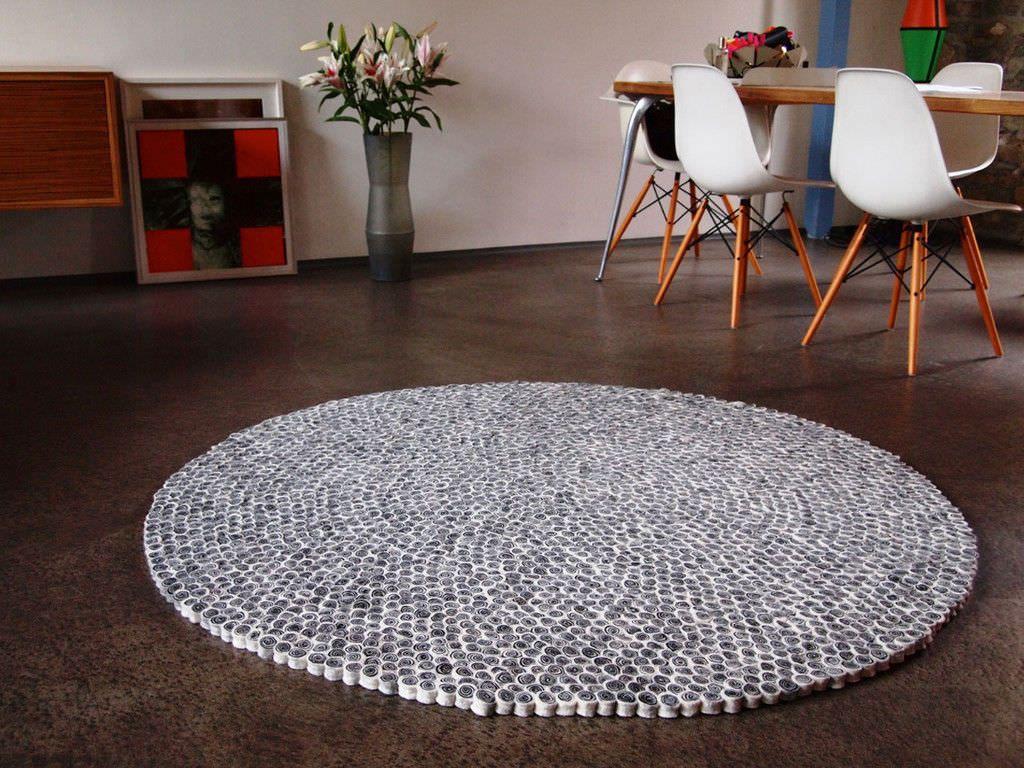 Billig Teppich Rund Wolle Deutsche Deko Pinterest