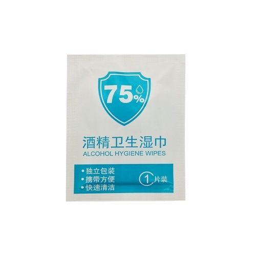 Tomtop 10pcs Lot 75 Alcohol Disposable Wet Wipes Portable Soft