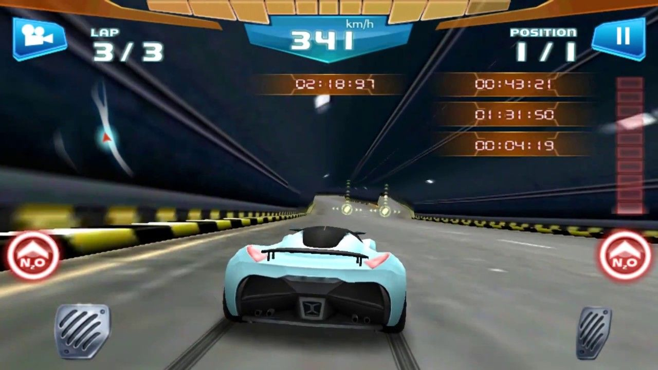 Fast Racing 3d Luxury Sports Car 450 Km H All Level Unlocked