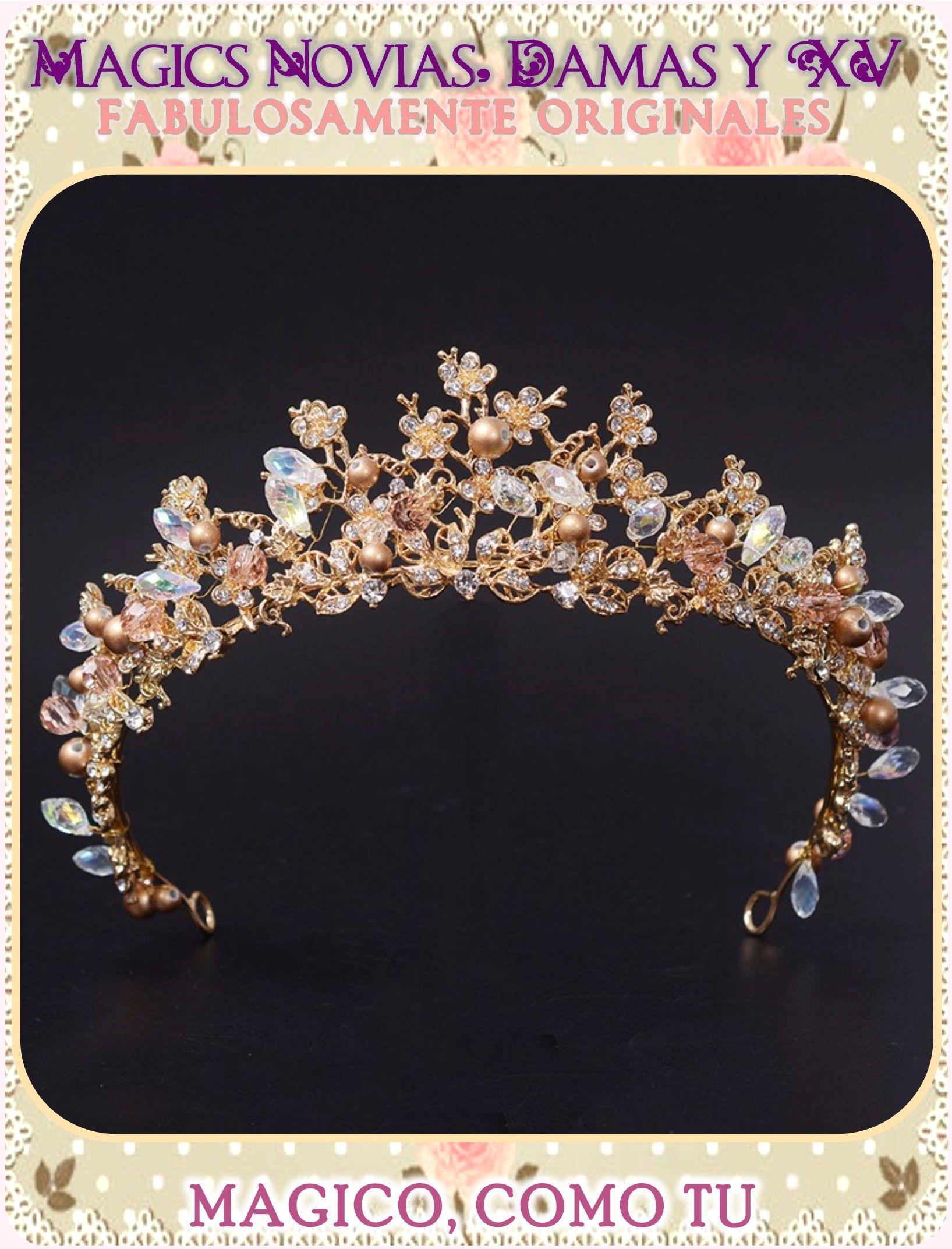 8f592630cc Coronas y tiaras para novias