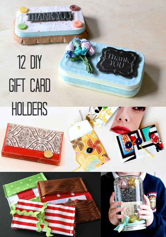 12 DIY Gift Card Holders You'll Love to Give - diycandy.com