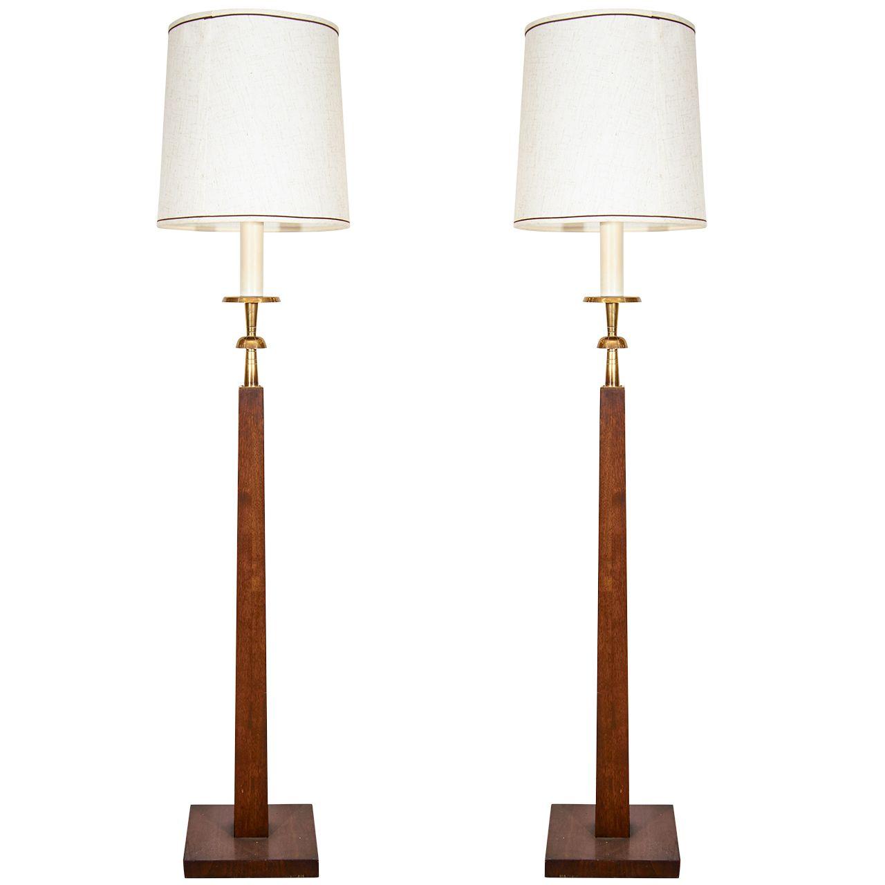 Inspirational Vintage Wooden Floor Lamps