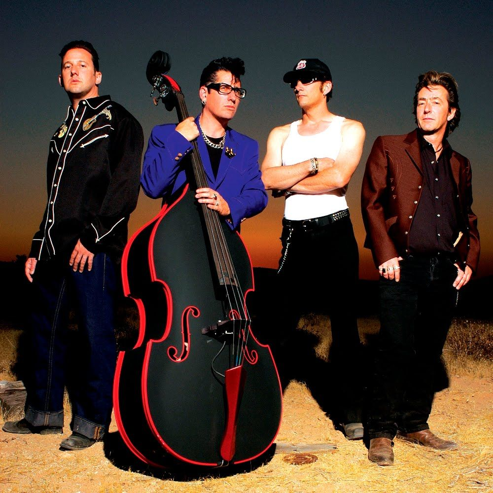 """""""The Stray Cats"""" Psychobilly bands, Band photoshoot"""