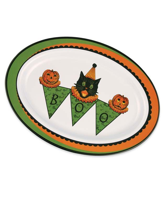 The Jolly Christmas Shop - Bethany Lowe Sassy Cat Halloween Serving