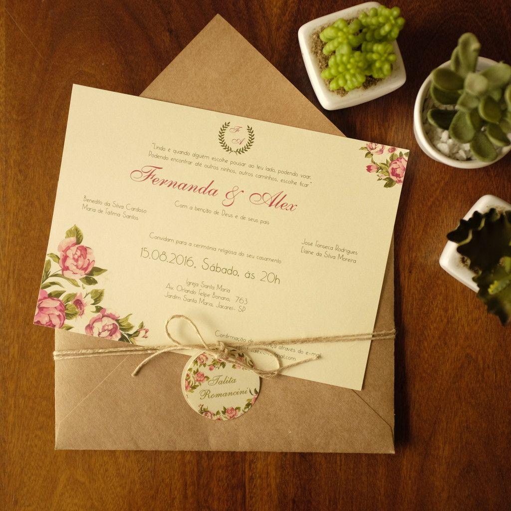 26 Pin em Meu convite de casamento