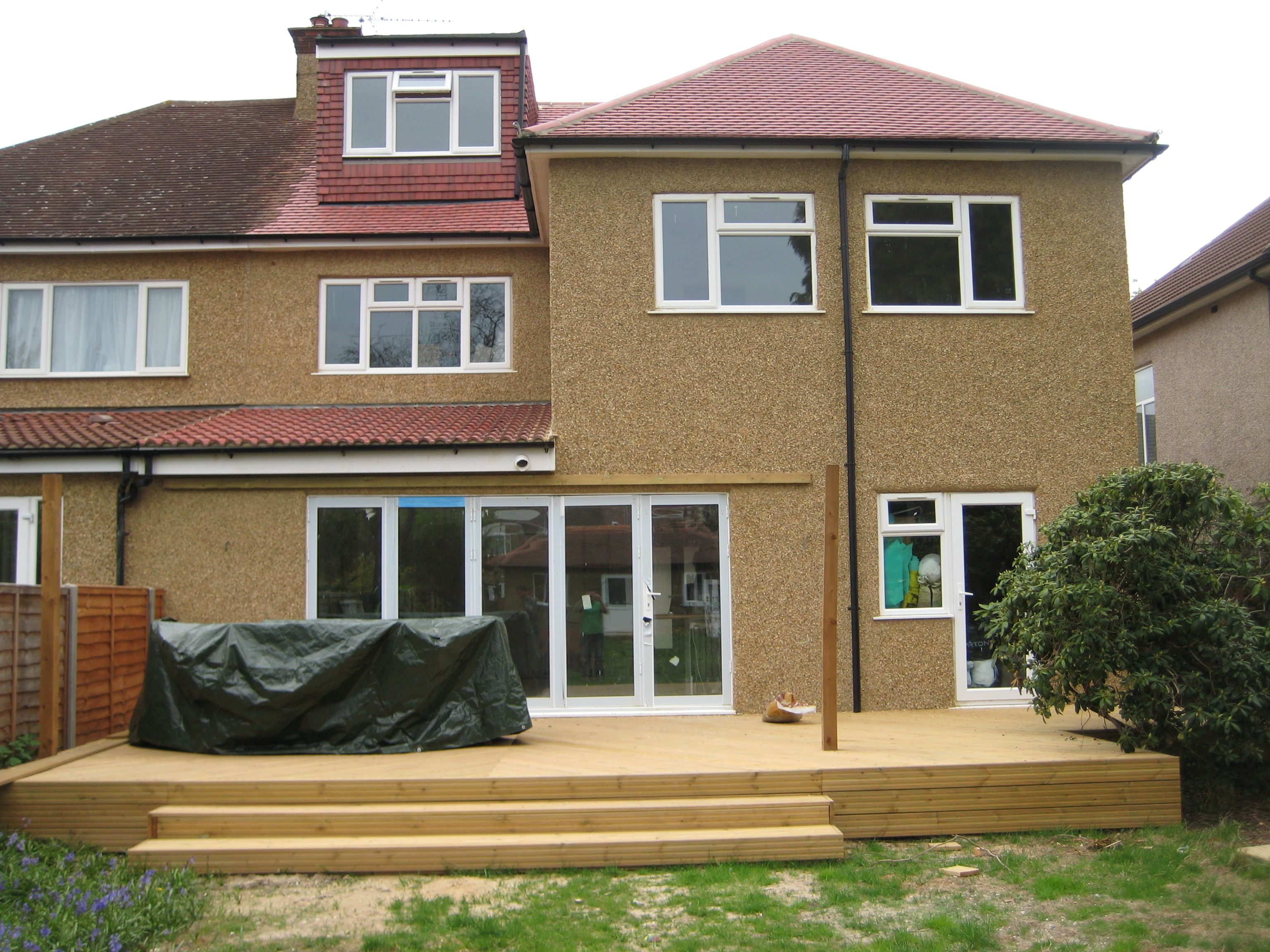 Double Storey Rear Extension Exterior house remodel