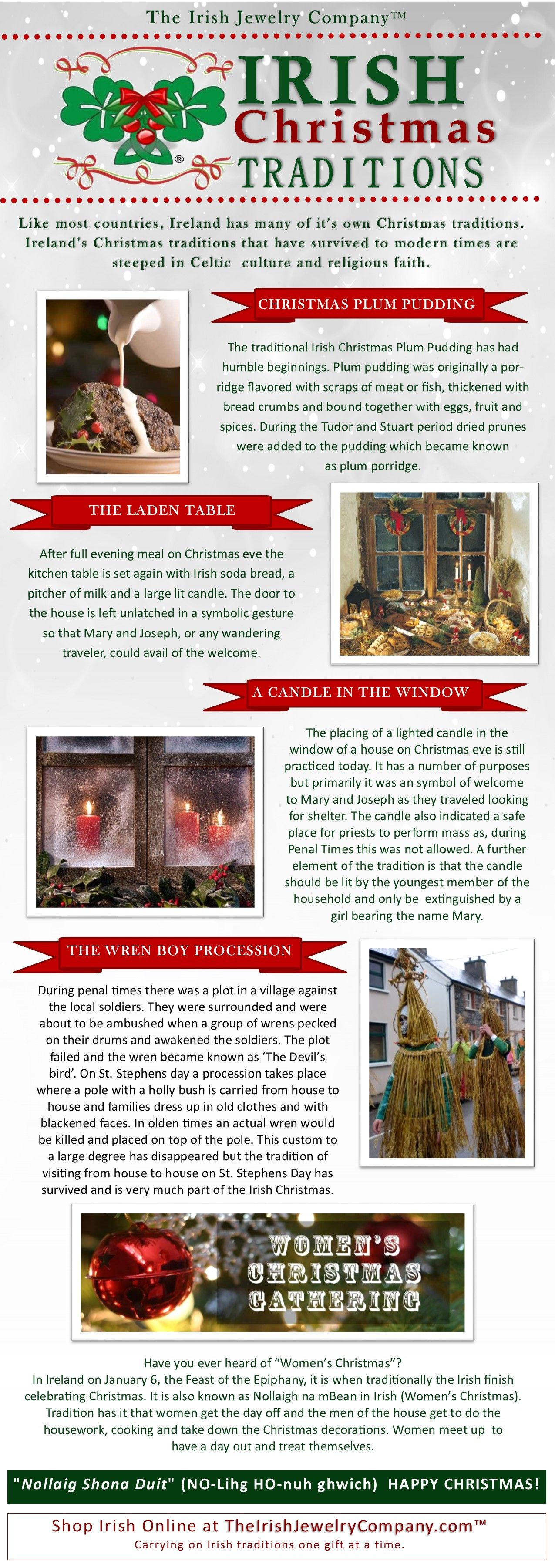 Irish Christmas Traditions | Christmas - Crafts, Decorations ...