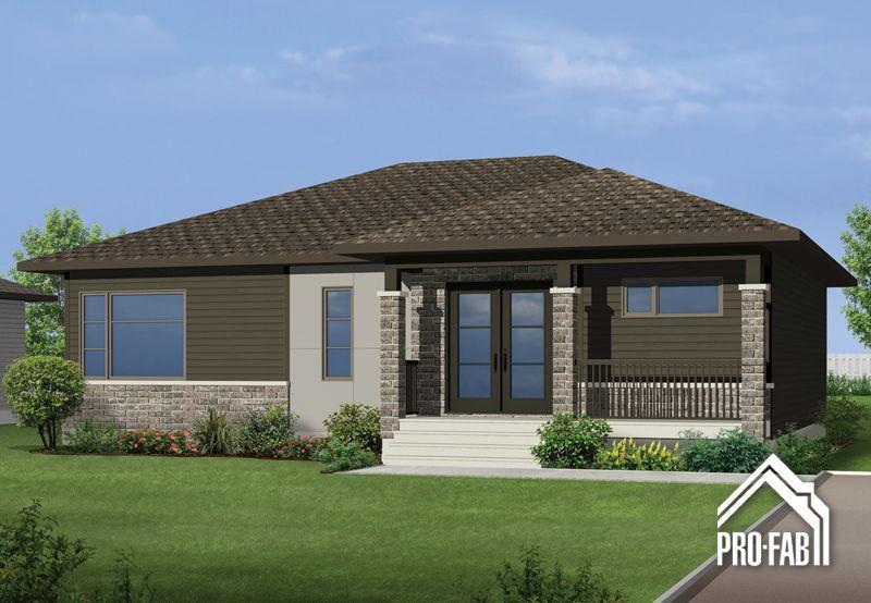 Pro-Fab Constructeur de maisons modulaires, usinées, préfabriquées - prix d une construction de maison
