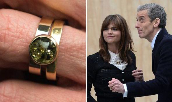 Homespun Truth About New Doctor Who Ring From Alien Planet Doctor Who Ring Peter Capaldi Alien