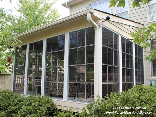 Screen porch design ideas for your porch 39 s exterior for Outdoor screen room ideas