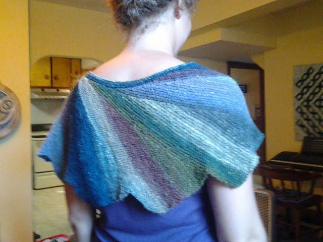 """Wingspan"" knitted shawl | Knitting | Pinterest | Knit ..."