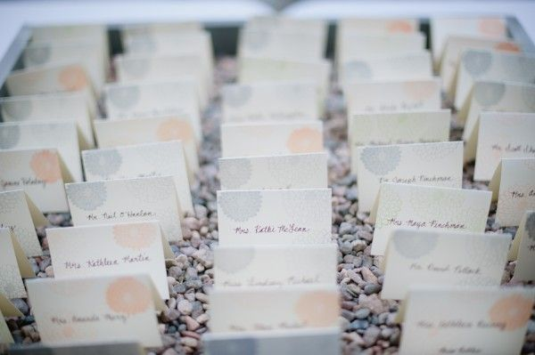 Fl Table Place Cards