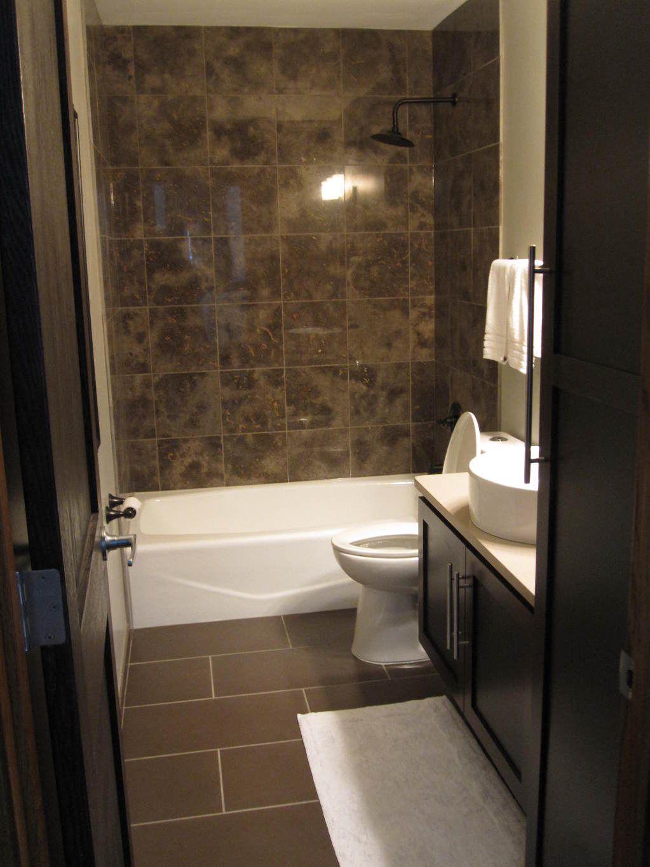 Bathroom Delectable Bathroom Decoration Using Dark Brown Limestone Bathroom Wall Including Mount Wal Brown Bathroom Decor Small Dark Bathroom Brown Bathroom