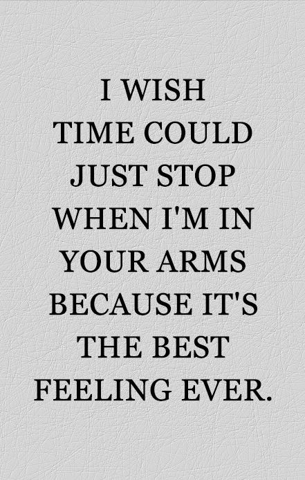 Absolutely So I Want To Be In Your Arms Constantly My Love