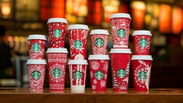 Este Ano La Decoracion De Los Vasos Rojos De Starbucks Ha Recaido En