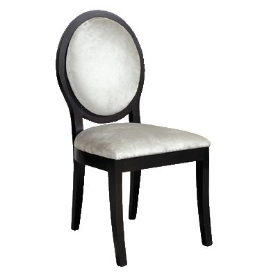 Superior Black Dining Chairs On Black And Silver Oval Back Dining Chair Charter  House Furniture