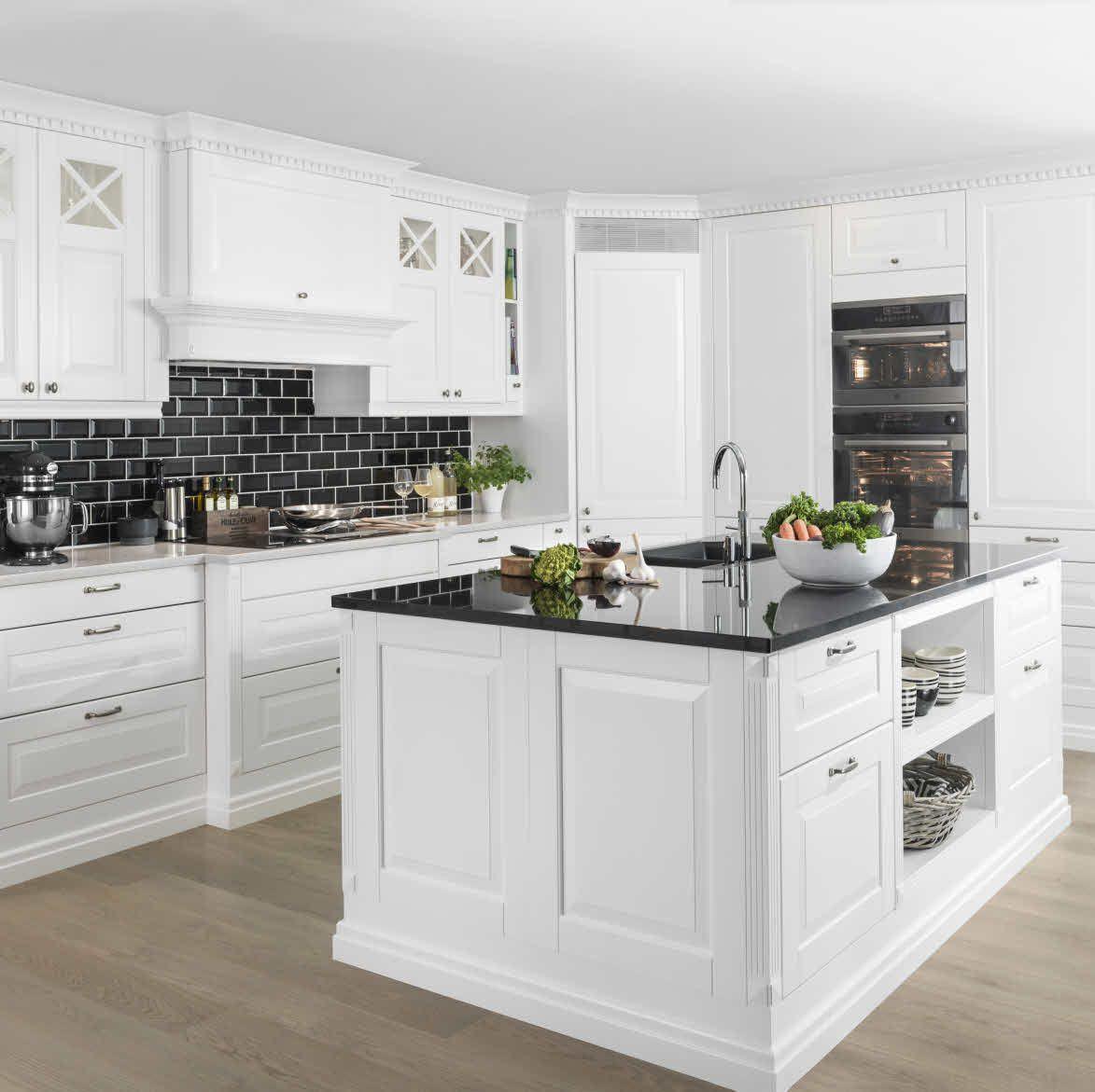 Sigdal kjøkken - Herregaard Premium white | Indoor living ...