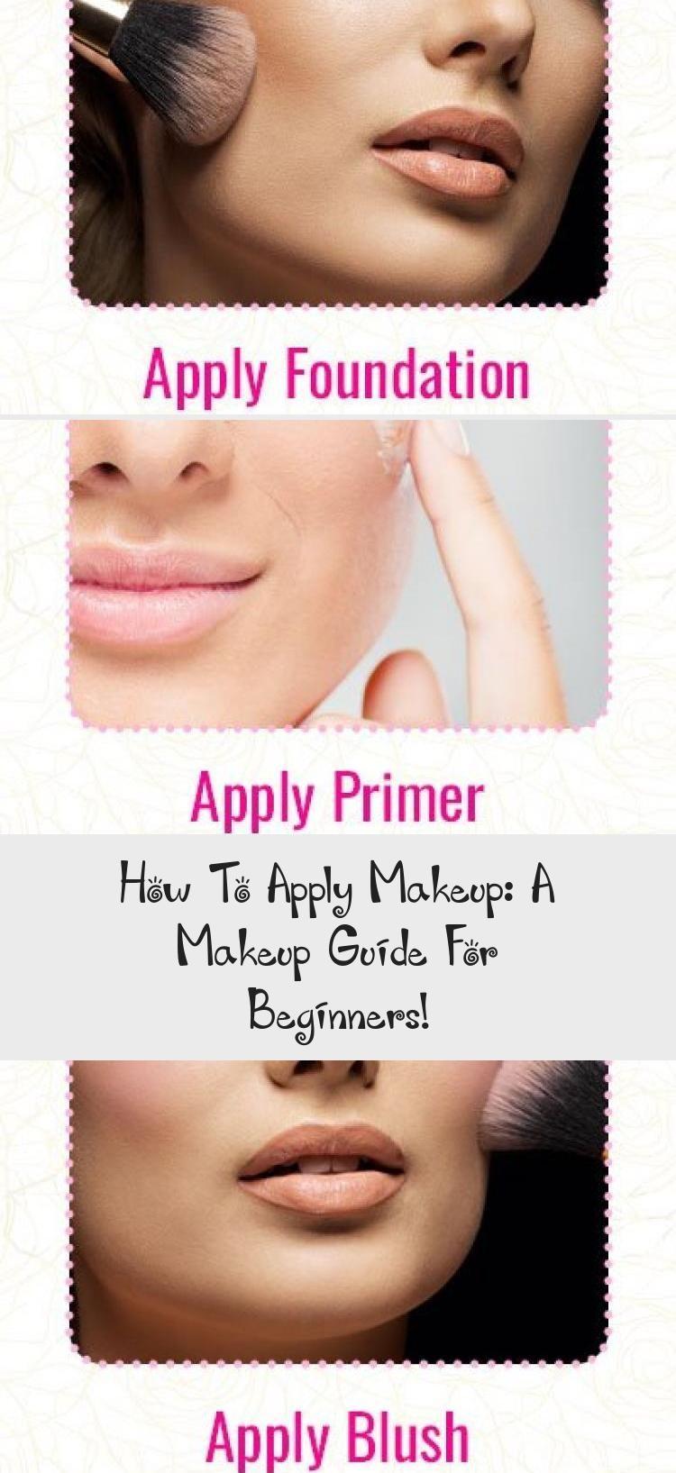 Photo of #HowToApplyMakeup: A Makeup Guide For Beginners! #makeuptutorialVideos #Summerma…