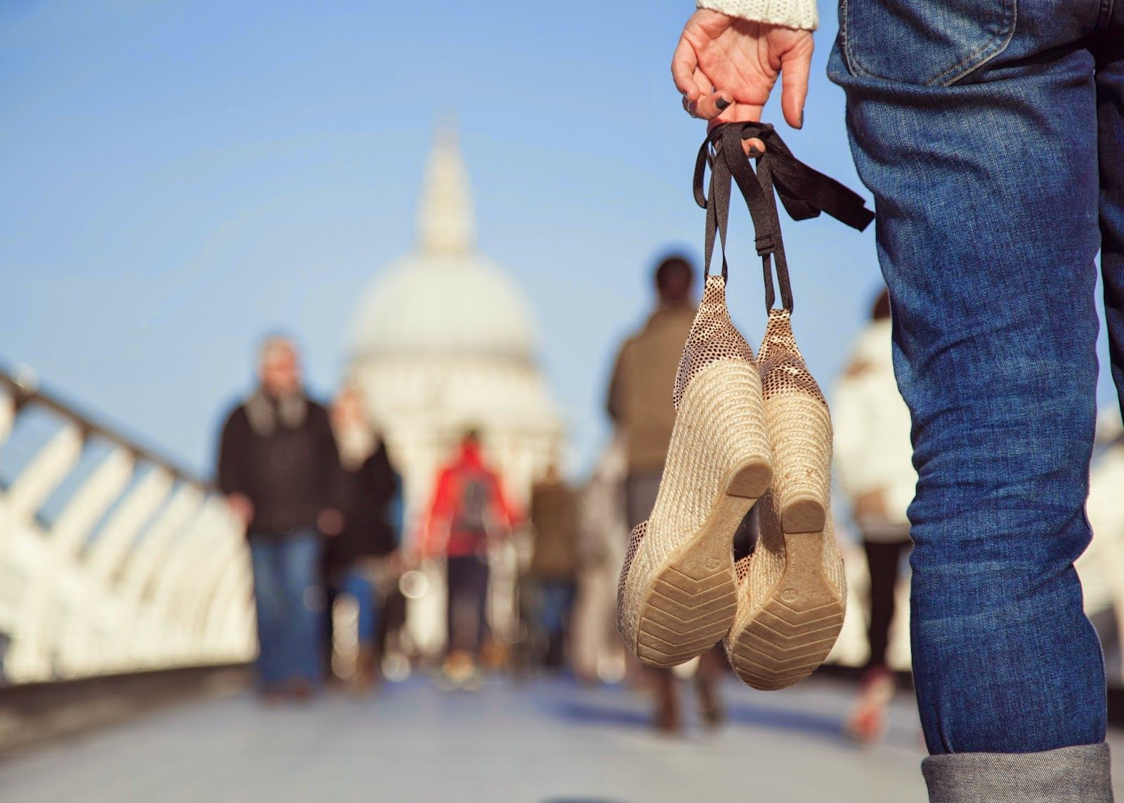 St Paul's and espadrilles by My name is Lolo