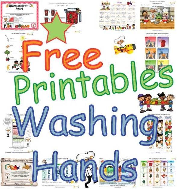 Free Printable Handwashing Poster For Kids English Spanish