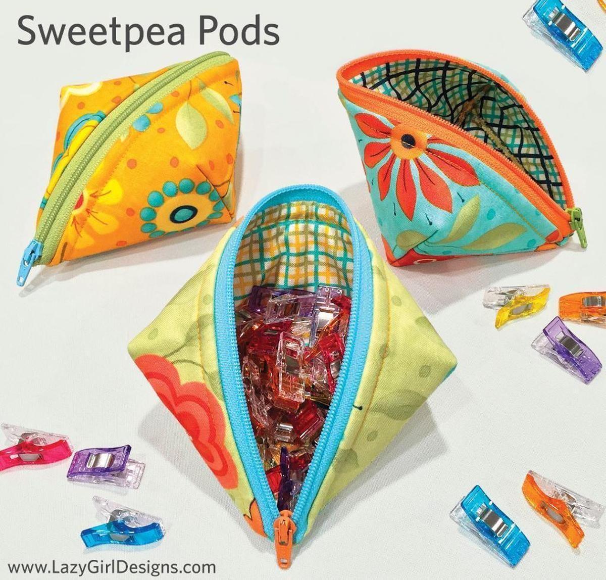 Sweetpea Pods | BOLSILLOS | Pinterest | Patchwork und Nähen
