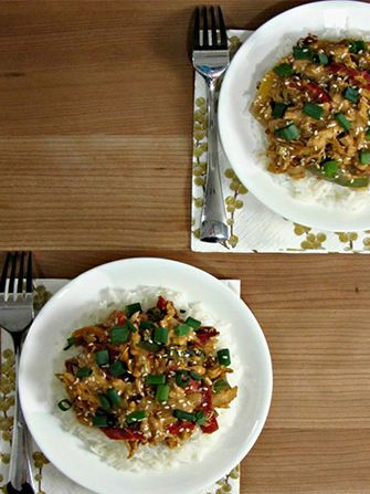 Cooking With Cakes - Thai Chicken Stir Fry