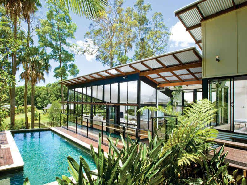 Skillion roof acreage house ideas pinterest house for Skillion roof house plans