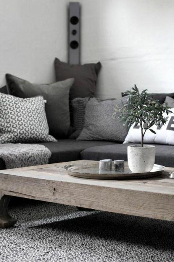 Wohnzimmer rustikal einrichten zimmerpflanzen living for Zimmerpflanzen wohnzimmer
