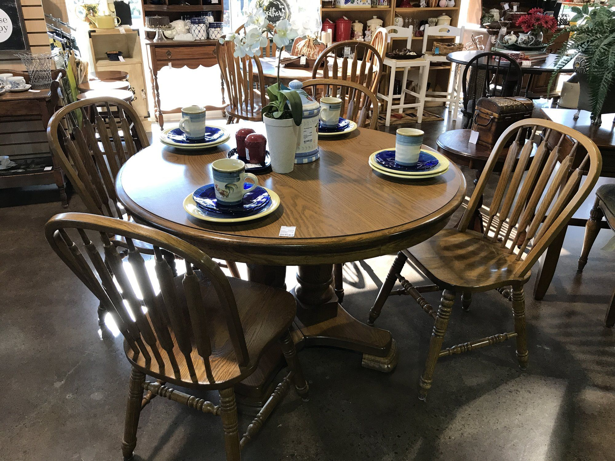 Richardson Brothers Furniture Has Been Making Quality Furniture Forever  (almost). This Table Set