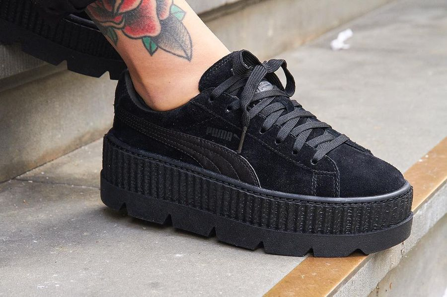 Puma Creeper Nel Fenty X 'black'Shoes Suede Cleated 2019 eIEDH9W2Y