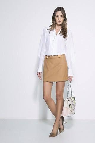 Esse é seu estilo ?   mini saia lã apricot concept  COMPRE AQUI!  http://imaginariodamulher.com.br/look/?go=2fyUHIg