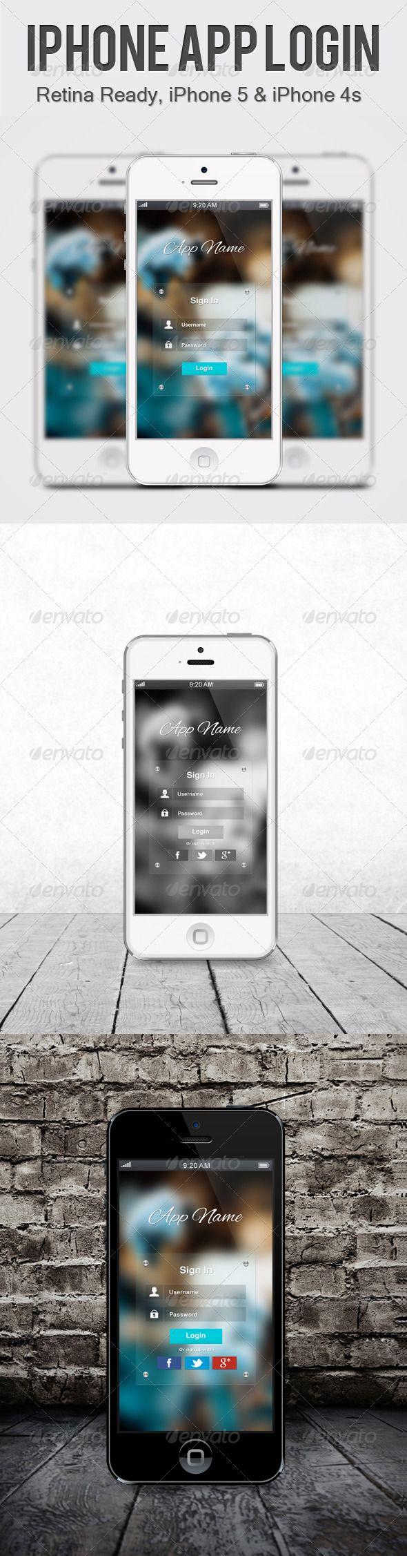 Transparent iPhone App Login Details ? Fully Editable