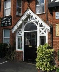 Camberley Guest House, Camberley, Surrey. Bed and Breakfast Holiday Accommodation in England.
