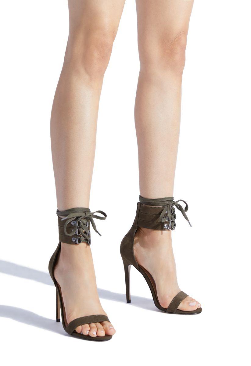 ELLOUISE ANKLE WRAP STILETTO   Sandals