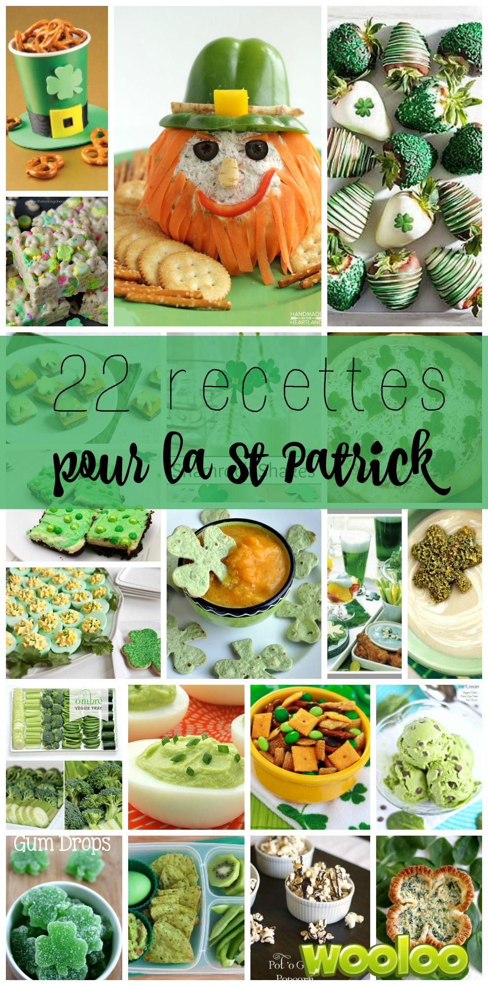 Souligner la Saint Patrick avec ces 22 idées de recettes faciles!