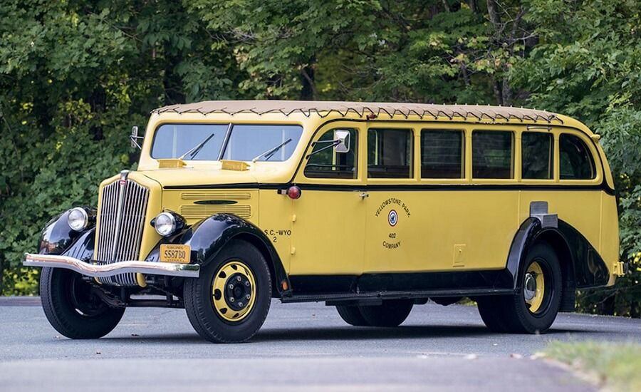 The iconic 1930s Yellowstone tour bus is for sale...and it